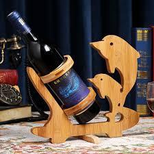 furniture modern decorative wine bottle holders for centerpiece