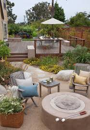 Patio Umbrellas San Diego San Diego Flagstone Deck Patio Style With Outdoor Living
