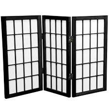 buy 2 ft tall desktop window pane shoji screen online wp24