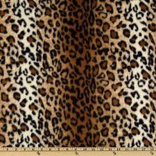 leopard fabric winterfleece black brown leopard discount designer fabric fabric com