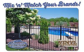 the best fence brands for your yard aluminum fence pvc vinyl and