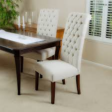 2 Dining Room Chairs Beige Dining Chairs New Set Of 2 In And Black Flynn Made With