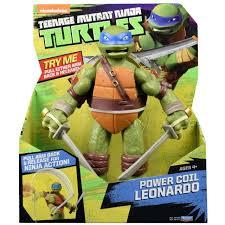 teenage mutant ninja turtles power coil 28cm figures teenage