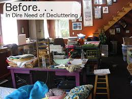 Design A Craft Room - how to declutter a craft room shiny happy world