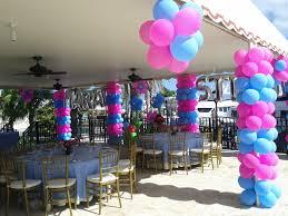interior design creative balloon themed birthday party