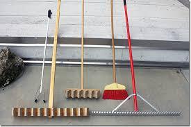 Types Of Garden Rakes - japanese gardening karesansui pulling the rake