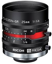 25 mm c mount lens pentax c2514 5m kp ricoh fl cc2514 5m 1 4