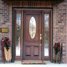 Exterior Wooden Door Exterior Wood Door With Glass Panels Exterior Doors Ideas