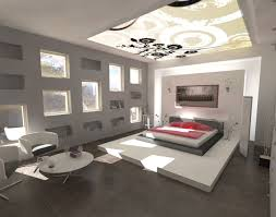 unique bedroom designs ideas in white and grey color so nice red