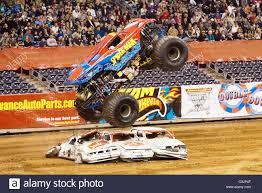 monster truck show houston texas april 14 2011 houston texas u s spiderman bari musawwir