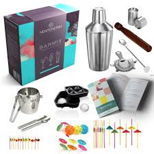 cocktail shaker set barmix 56pcs stainless steel cocktail shaker set 750 ml shaker