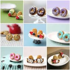 food earrings miniature food studs post earrings all handmade by mysel flickr