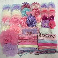 headband supplies baby shower headband kit 30 00 bowtique emilee diy headband