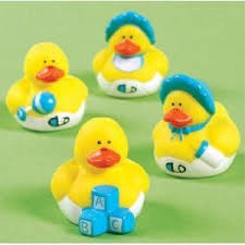 rubber duck baby shower express vinyl mini baby shower rubber duckies 24