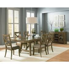 gray dining room table omaha grey trestle dining room table with two leaves by standard