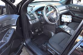 Ford Explorer 2015 Interior 2016 Ford Police Interceptor Utility Arrives In Chicago Images