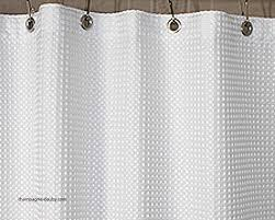 Fabric Shower Curtain With Window Hookless Fabric Shower Curtain With Window Dixiedogwear