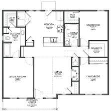 simple 3 bedroom house plans modern 3 bedroom house plans modern small house plan design and