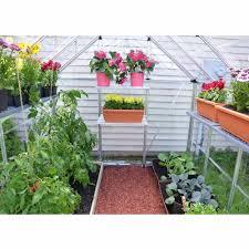 Palram Harmony 6 X 8 Palram Snap U0026 Grow 4 U0027 Extension Kit For 6 U0027 Wide Hobby Greenhouse