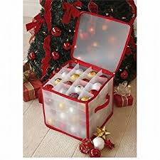 tree 64 bauble decorations storage box brand new by tjm