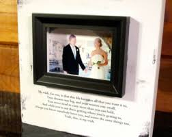wedding wishes photo frame wedding wishes frame etsy