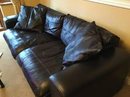 Used Leather Sofas For Sale 2 Seater Black Leather Sofa Used Local Classifieds Buy