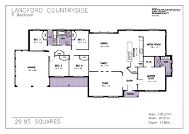 house plan allworth homes 29 langford countryside 5 bedroom media