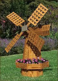 garden ornament windmill large bronze powder coated backyard