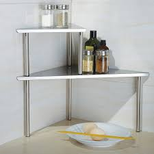 Wall Mounted Kitchen Shelves by Kitchen Wall Mounted Kitchen Shelf Made Of Wood With Hook Made Of