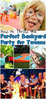 how to throw the perfect backyard party for tweens and a giveaway
