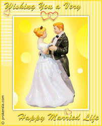 greetings for wedding card happy married prokerala greeting cards