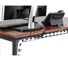 Computer Desk Cord Management Computer Desk With Cable Management Cable Management Sleeve