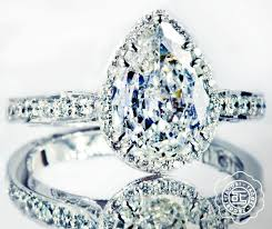 Tacori Wedding Rings by Perhaps The Prettiest Pear Shaped Diamond Engagement Ring Tacori