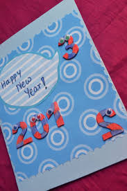 happy new year paper cards cool new year card design featuring blue paper card decorated with