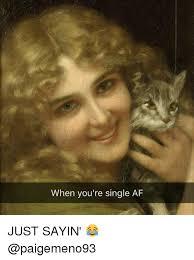 Just Sayin Meme - when you re single af just sayin meme on esmemes com