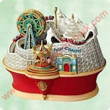 2003 magic polar coaster hallmark ornament
