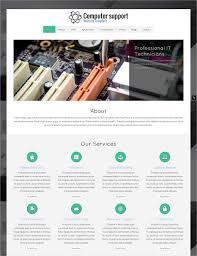 28 computer repair website themes u0026 templates free u0026 premium
