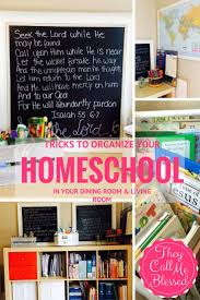 Small Dining Room Organization 104 Best Dreaming Of Homeschool Room Office Images On Pinterest