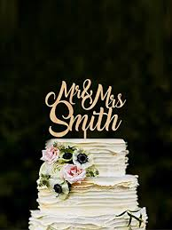 name cake toppers custom mr mrs cake toppers for wedding name cake topper rustic