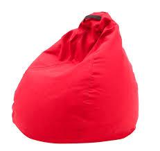 contemporary bean bag fabric orange yellow esprit