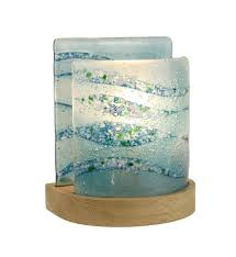Small Accent Table Lamps Lighting Distinctive 2 Side Stained Bubble Glass Small Table Lamp