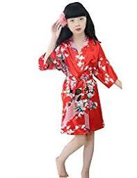 girls u0027 robes and kimonos amazon co uk
