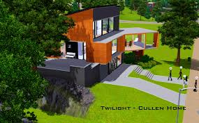 bedroom exciting mod the sims twilight cullen home house