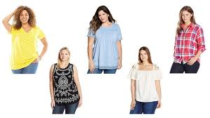 top 20 best plus size tops shirts tanks tees