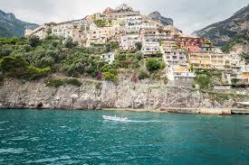 Map Of Amalfi Coast Positano Amalfi Coast Landing Of The Saracens Dream Of Italy