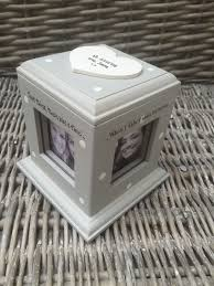shabby chic style personalised gift photo cube box special best