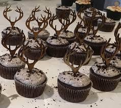antler cake topper antler cupcake topper deer cupcake topper antler cake topper
