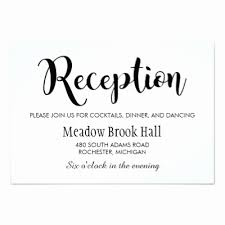 reception card 50 unique gallery of wedding reception cards wedding design