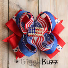fourth of july hair bows fourth of july hair bow