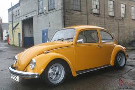 volkswagen beetle yellow volkswagen gt beetle 1973 1600 lemon yellow
